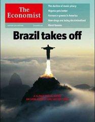 Brasil decola na capa da The Economist deste mês